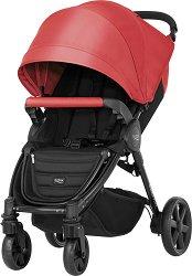 Комбинирана бебешка количка - B-Agile Plus - С 4 колела -
