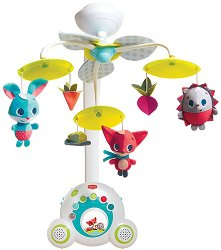 """Музикална въртележка - Soothe 'n Groove - Играчка за бебешко креватче от серията """"Meadow Days"""" -"""