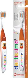 Dentissimo Junior 6+ Soft Toothbrush - Четка за зъби с меки влакна за деца на възраст над 6 години -