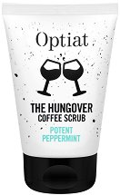Optiat The Hungover Coffee Scrub Potent Peppermint - Скраб за тяло с утайка от кафе и масло от мента -