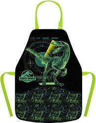 Детска престилка за рисуване - Jurassic World - продукт
