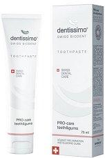 Dentissimo PRO-Care Teeth & Gums Toothpaste - Паста за пълноценна грижа за венците и зъбите -