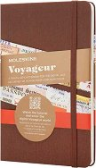 Джобен тефтер за пътешествия - Voyageur - Размери 11.5 x 18 cm