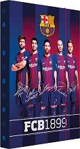 Кутия с ластик - ФК Барселона - Размери 23 x 34  cm