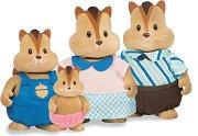"""Семейство Северноамерикански катерици - Фигурки за игра от серията """"Lil Woodzeez"""" - фигури"""