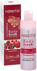 Harem's Body Scrub Pomegranate - Ексфолиант за тяло с нар - лосион