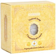 Harem's Natural Soap Chamomile & Lemon - Натурален сапун с лайка и лимон - сапун
