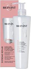 Biopoint Extreme Repair Super Reconstruction Fluid - Възстановяващ и реконструиращ флуид за изтощена и силно увредена коса -