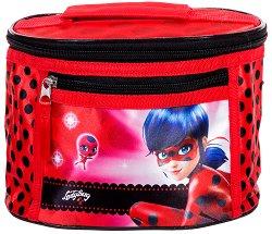 Козметична чанта с дръжка - Калинката - творчески комплект