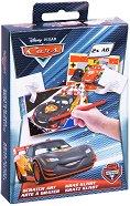 """Скреч картички - Cars - Творчески комплект от серията """"Koлите"""" - играчка"""