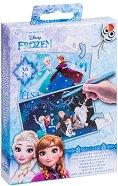Скреч картички - Замръзналото кралство - Творчески комплект -