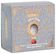 Harem's Silver Soap Snail - Сапун с екстракт от охлюви за чувствитлена и склонна към омазняване кожа -