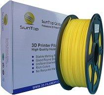 Жълт консуматив за 3D принтер - PLA