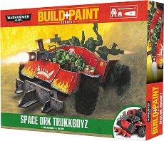 "Space Ork Trukkboyz - Сглобяем модел от серията ""Warhammer 40000: Build + Paint"" -"