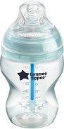 Бебешко шише за хранене - Advanced Anti-Colic Plus 260 ml - Комплект със силиконов биберон за бебета от 0+ месеца - продукт