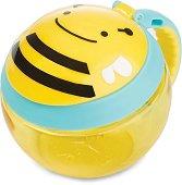 Купичка за храна с капаче и дръжка - Пчеличката Бруклин -