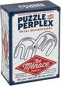 """The Menace - 3D метален пъзел от серията """"Puzzle and Perplex"""" -"""