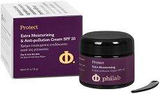 Philab Protect Extra Moisturising & Anti-pollution Cream - SPF 25 - серум