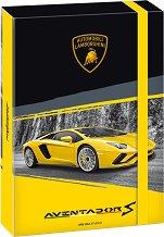 Кутия с ластик - Lamborghini - Формат А4