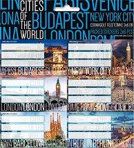 Етикети за тетрадки - Cities of the World -