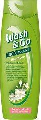 Wash & Go Shampoo With Jasmine Extract - шампоан