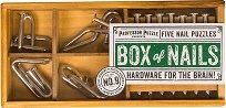 """Box of Nails - Шест логически 3D пъзела от серията """"Academy"""" -"""
