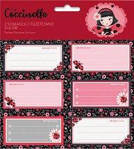 Етикети за тетрадки - La Coccinelle -