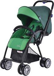 Комбинирана бебешка количка - Salsa - С 4 колела -