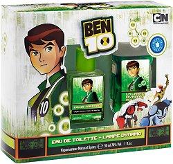 Детски подаръчен комплект - Ben 10 - С парфюм и фенерче - продукт