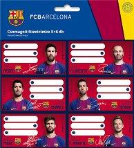 Етикети за тетрадки - ФК Барселона - продукт