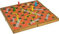 Змии и стълби - Детска състезателна игра -