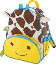 Раница за детска градина - Жирафчето Джулс - количка