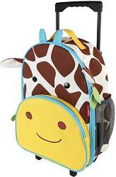 """Детски куфар на колелца - Жирафчето Джулс - От серията """"Zoo"""" -"""