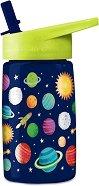 Детска бутилка - Космос 450 ml - топка