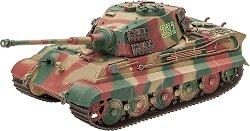 Германски танк - Tiger II Ausf.B Henschel Turret - Сглобяем модел -