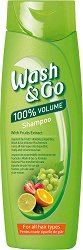 Wash & Go Shampoo With Fruits Extract - Шампоан с плодови екстракти за всеки тип коса -