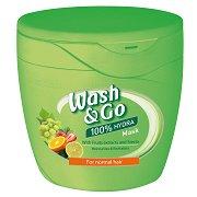 Wash & Go Mask With Fruits Extract & Stevia - Маска за всеки тип коса с плодови екстракти и стевия - маска