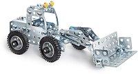 """Строителни машини - 3 в 1 - Детски метален конструктор от серията """"Eitech: Junior"""" - играчка"""