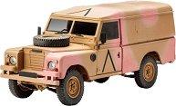 Британски военен джип  - Land Rover 109 / LWB Series III - Сглобяем модел -