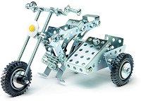 "Мотоциклет - 3 в 1 - Детски метален конструктор от серията ""Eitech: Junior"" -"