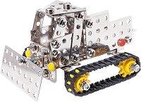 """Машини с вериги - 3 в 1 - Детски метален конструктор от серията """"Eitech: Starter"""" -"""