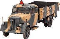 Военен камион - Opel Blitz 2.5 - 32 - Сглобяем модел -