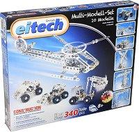 "Конструктор 10 в 1 - Детски метален конструктор от серията ""Eitech: Classic"" -"