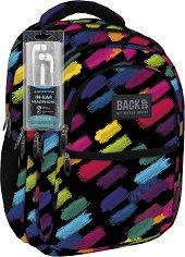 Ученическа раница - Back Up: B 53 - Комплект със слушалки - раница