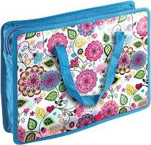 """Чанта за съхранение на документи - Формат А4 от серията """"Flowers"""""""