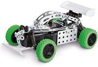 Състезателна кола - Метален конструктор с дистанционно управление -