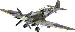 Военен самолет - Spitfire Mk. IXC - Сглобяем авиомодел - макет