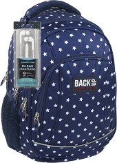 Ученическа раница - Back Up: A 25 - Комплект със слушалки -