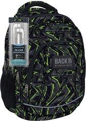 Ученическа раница - Back Up: A 31 - Комплект със слушалки - раница