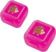 """Кутии за храна - Таралеж - Комплект от 2 броя от серията """"Crocodile Creek"""" -"""